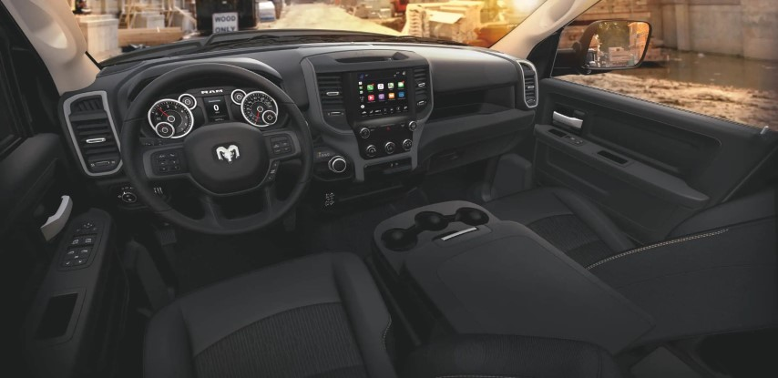 2022 RAM 2500 Interior Features