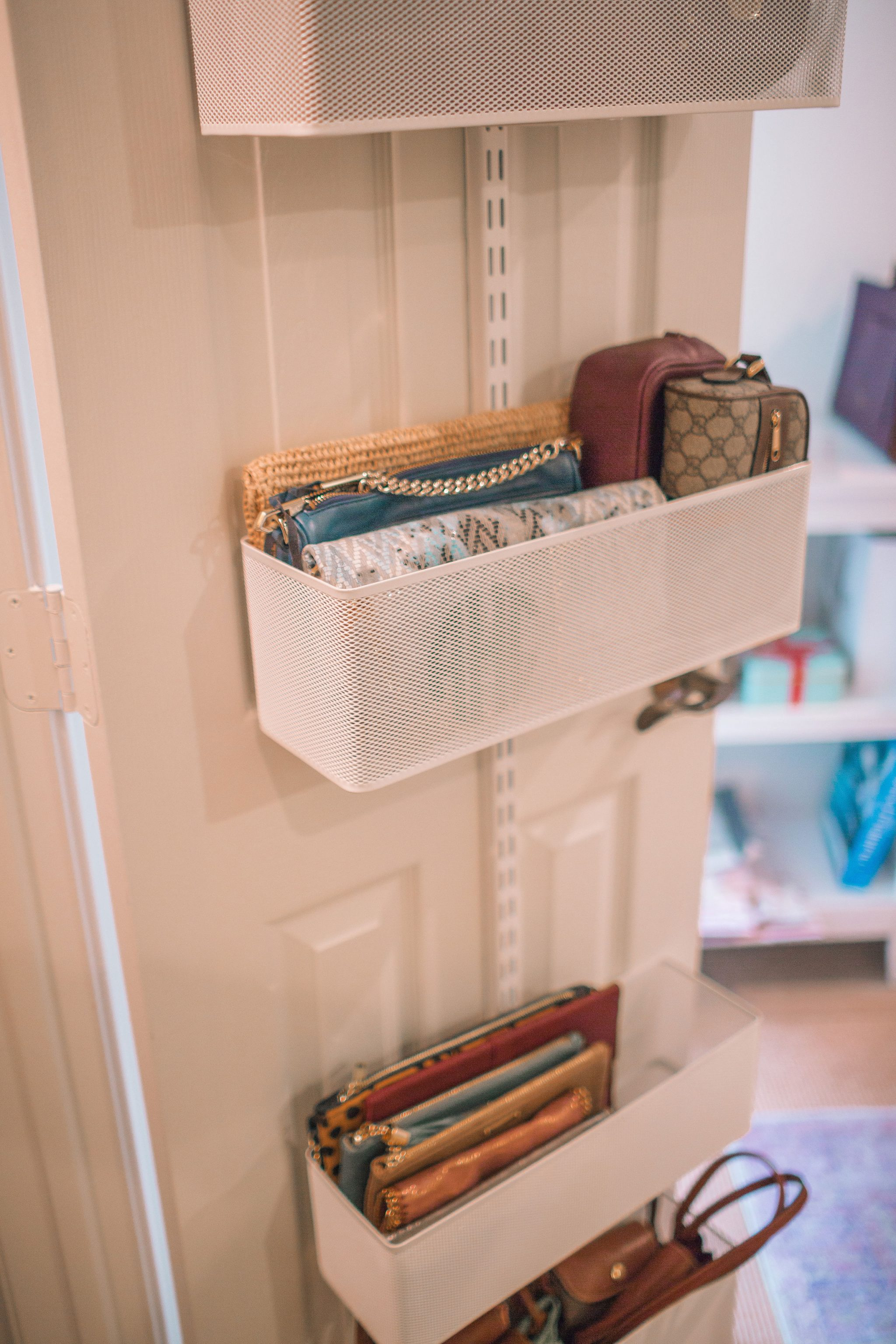 Organizing A Small Office Closet Before And After Adored