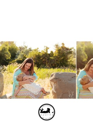 Celebrating World Breastfeeding 2017 with special Mother-Daughter nursing portraits with Adored by Meghan, Tri-Cities, WA