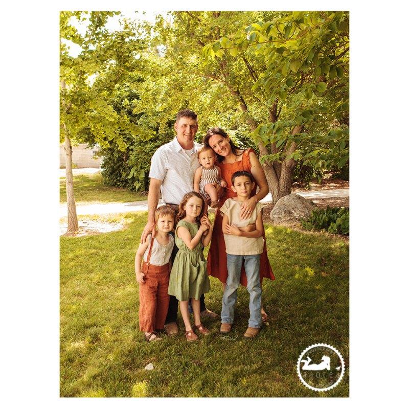 Family portrait Adored by Meghan Pasco WA
