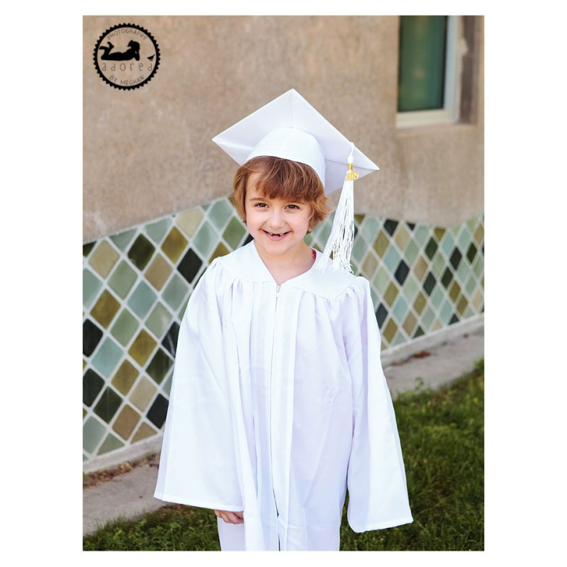 Preschool graduation photo by Adored by Meghan, Kennewick, WA