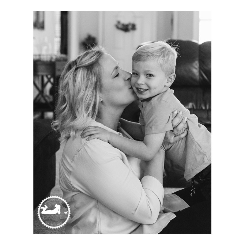 Snuggling with Mom. Adored by Meghan, Kennewick, WA photographer.