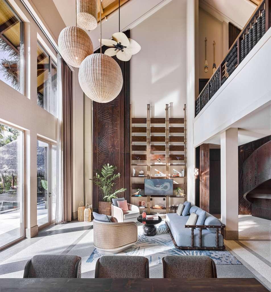Four Bedroom Beach Residence Living Room