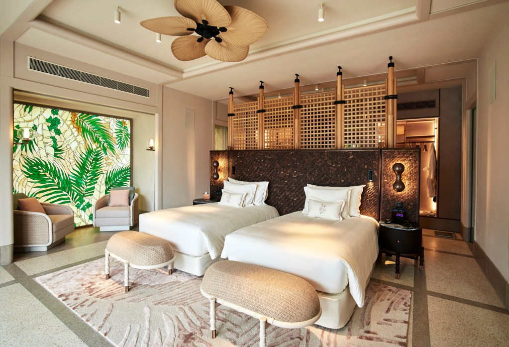 Four Bedroom Beach Residence Twin Bedroom