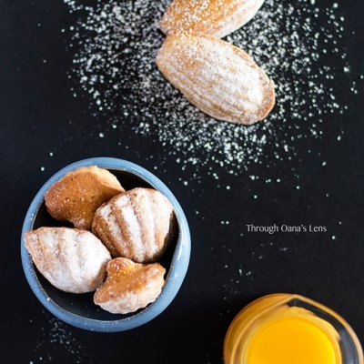 Orange Madeleines | Adore Foods