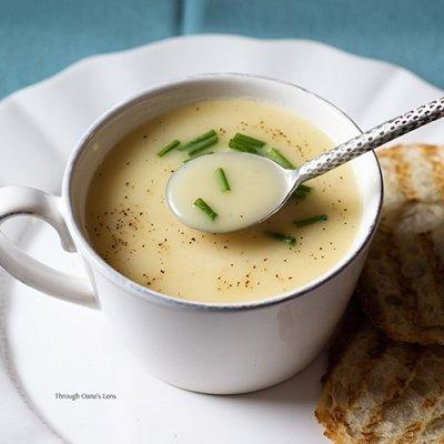 Potato and Leek Soup – Summer version recipe | Adore Foods