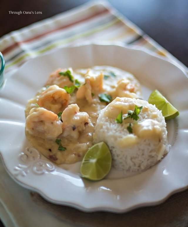 Brazilian Vatapa {Prawn Curry}