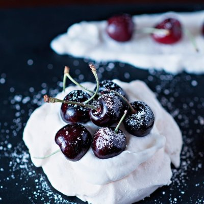 Cherry Mini Pavlovas Recipe | Adore Foods