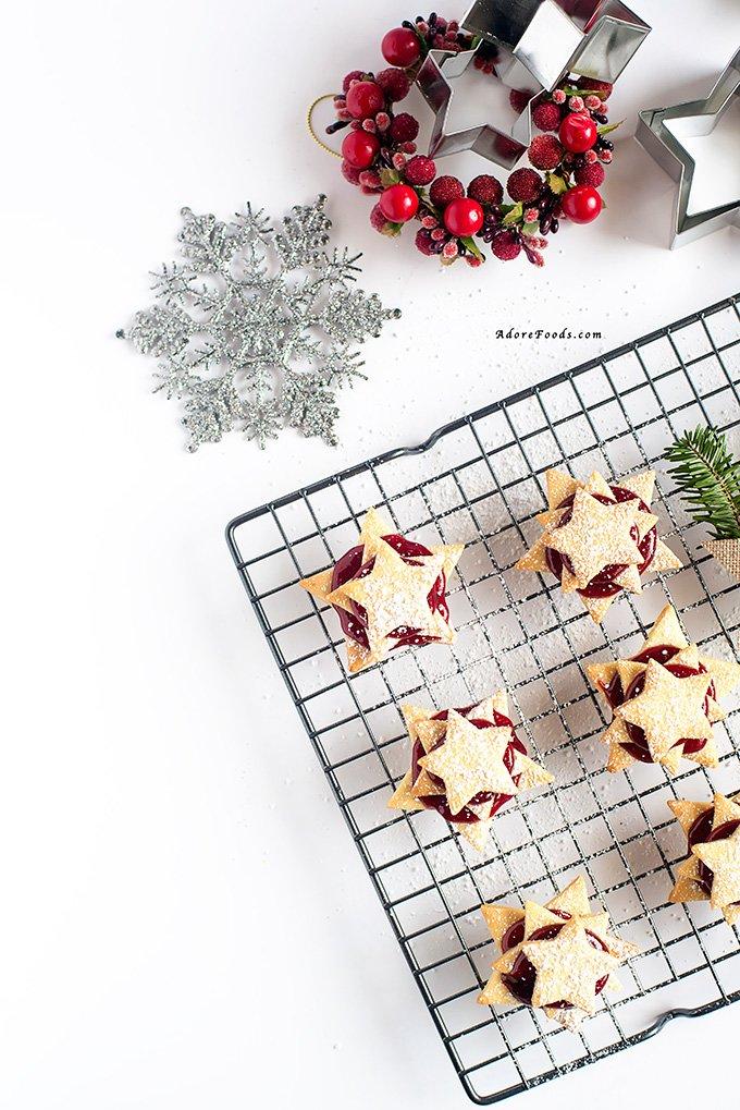 German Terrassen Kekse Christmas cookies