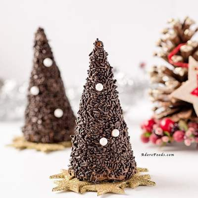 Chocolate Christmas Tree Edible Piñata