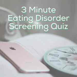 Eating Disorder Quiz