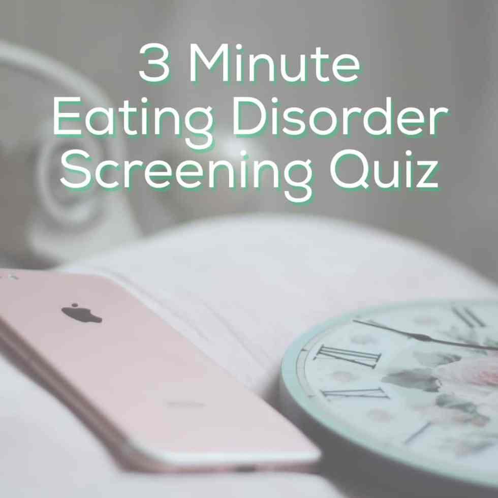 Eating Disorder Quiz