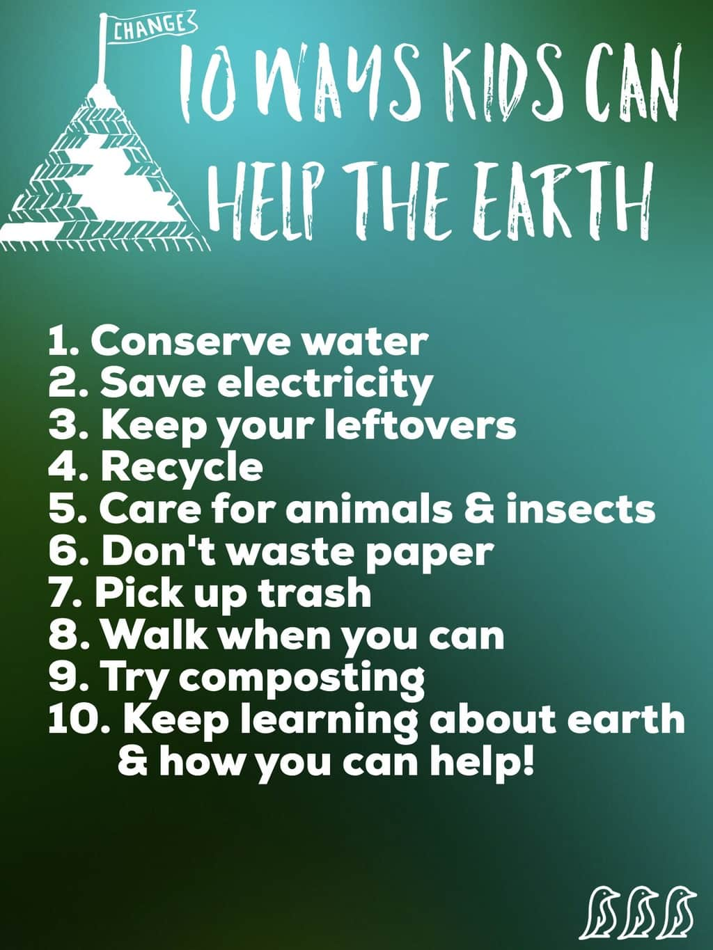 10 Simple Ways Kids Can Help The Earth A Free Printable