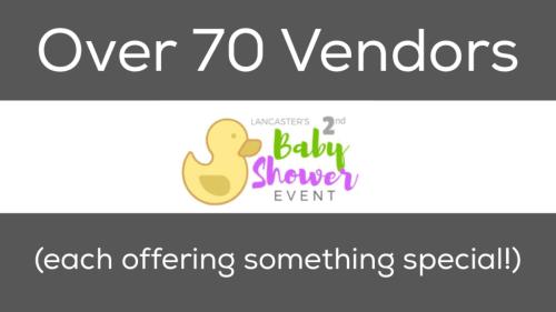 Lancaster Baby Shower Vendors
