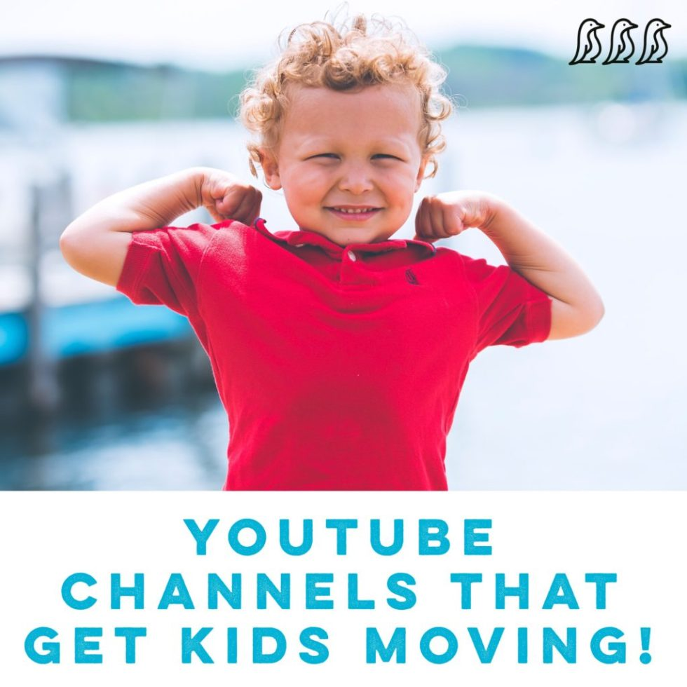 YouTube Channels that Get Kids Moving