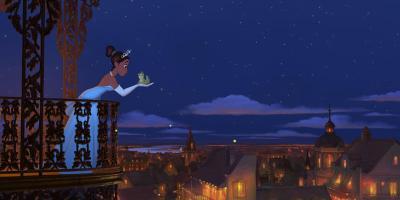 Filmstill aus KÜSS DEN FROSCH - © Disney