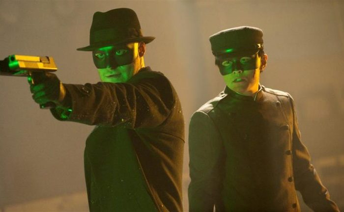 Szenenbild aus THE GREEN HORNET - © Sony Pictures