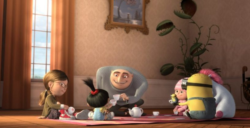 Szenenbild aus DESPICABLE ME - © Warner Bros.