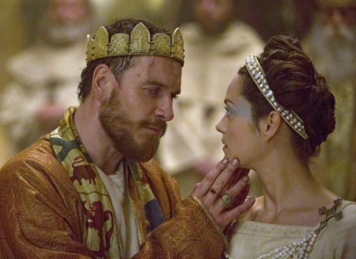 Szenenbild aus MACBETH - Das Ehepaar Macbeth (Michael Fassbender und Marion Cotillard) - © 2015 StudioCanal