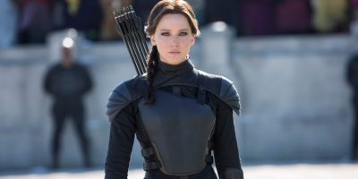 Szenenbild aus HUNGER GAMES MOCKINGJAY - Katniss Everdeen (Jennifer Lawrence) - © 2015 StudioCanal