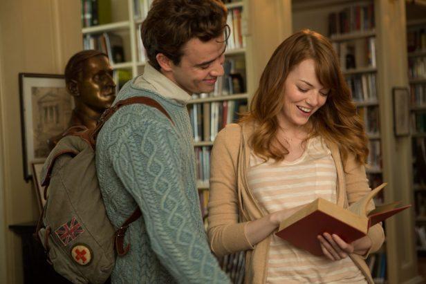 Szenenbild aus IRRATIONAL MAN - Roy (Jamie Blackley) und Jill (Emma Stone) - © 2015 GRAVIER PRODUCTIONS, INC. / Warner Bros.