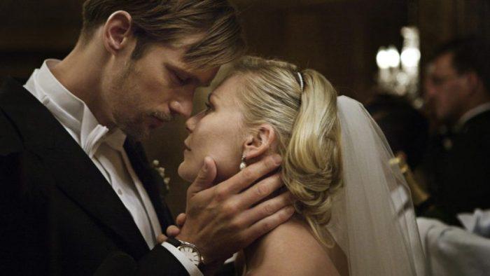 Szenenbild aus MELANCHOLIA - Kapitel 1: Die Hochzeit von Michael (Alexander Skarsgård) und Justine (Kirsten Dunst) - © Concorde Filmverleih