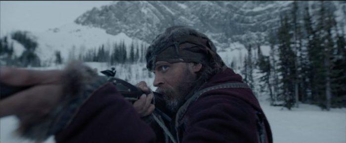 Szenenbild aus THE REVENANT - Mit Tom Hardy ist nicht zu spaßen... - © 2015 20th Century Fox