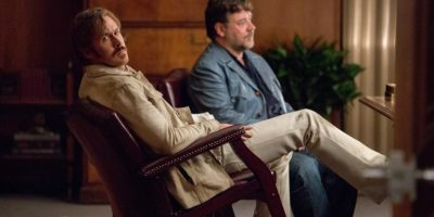 THE NICE GUYS - Jackson Healy (Russell Crowe) und Holland March (Ryan Gosling), - © Concorde Filmverleih