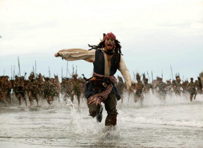 Johnny Depp in FLUCH DER KARIBIK 2 - © Buena Vista Pictures