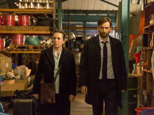 Szenenbild aus der 3. Staffel von BROADCHURCH - Ellie Miller (Olivia Colman) und Alec Hardy (David Tennant) - © ITV