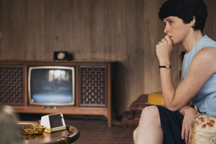 Szenenbild aus FIRST MAN - AUFBRUCH ZUM MOND - Janet Armstrong (Claire Foy) - © Universal Pictures