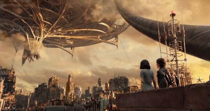 Szenenbild aus ALITA: BATTLE ANGEL - Zalem, die Himmelsstadt, befindet sich direkt über Iron City. - © 20th Century Fox