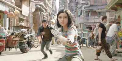 Szenenbild aus ALITA: BATTLE ANGEL - Alita (Rosa Salazar) - © 20th Century Fox