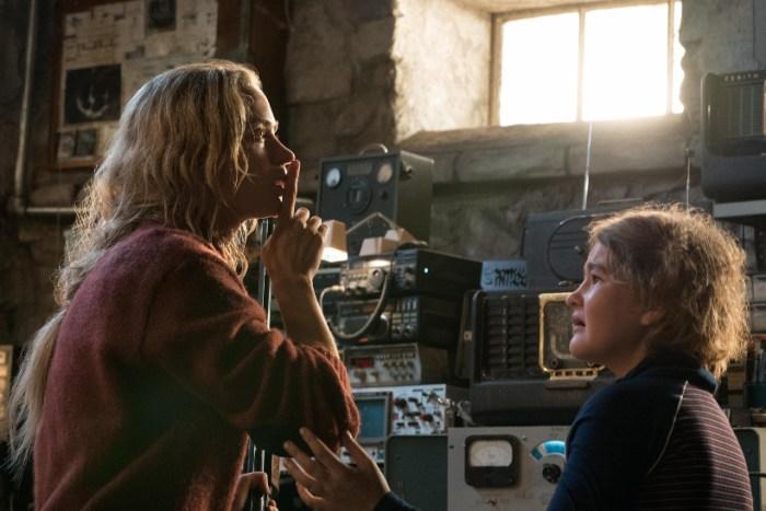 Szenenbild aus A QUIET PLACE (2018) - Evelyn (Emily Blunt) und Regan (Millicent Simmonds) - © Paramount Pictures