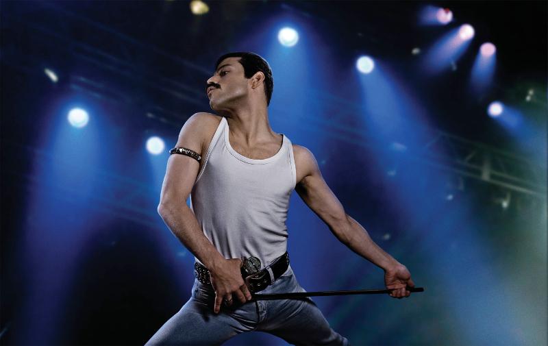 Szenenbild aus BOHEMIAN RHAPSODY (2018) - Freddie Mercury (Rami Malek) - © 20th Century Fox