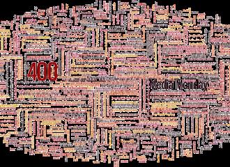 Header zum Media Monday 400 via Medienjournal Blog