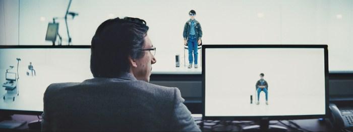Szenenbild aus MIDNIGHT SPECIAL - Alton (Jaeden Martell) zeigt Sevier (Adam Driver) seine Fähigkeiten. - © Warner Bros.