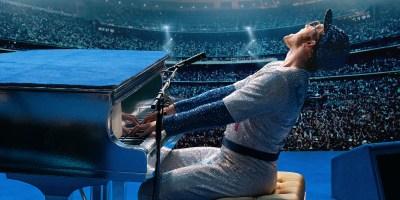 Szenenbild aus ROCKETMAN (2019) - Taron Egerton spielt Elton John - © Paramount Pictures