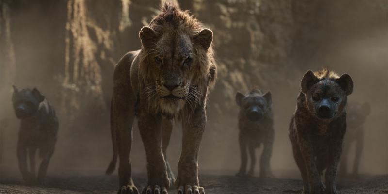 Szenenbild aus THE LION KING (2019) - Scar - © 2019 Disney Enterprises, Inc. All Rights Reserved.