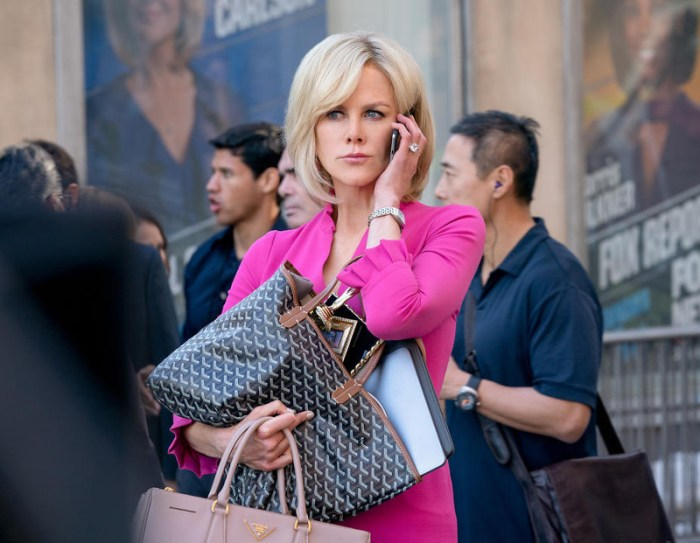 Szenenbild aus BOMBSHELL (2019) von Jay Roach - Gretchen Carlson (Nicole Kidman) verklagt Roger Ailes. - © Wild Bunch Germany