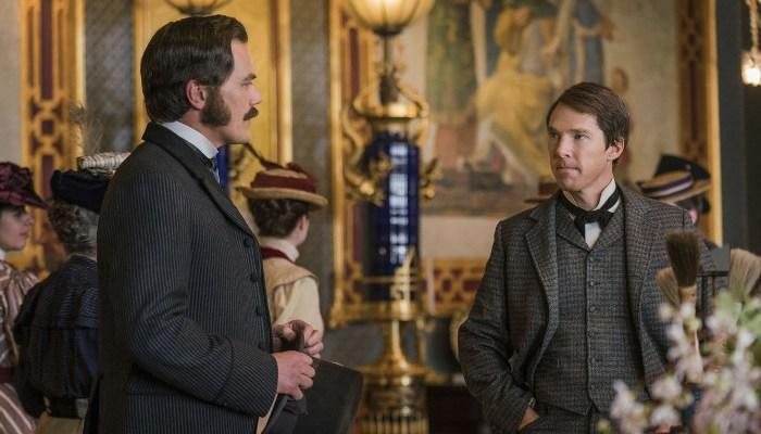 Szenenbild aus THE CURRENT WAR - EDISON - Westinghouse (Michael Shannon) und Edison (Benedict Cumberbatch) - © Leonine Studios