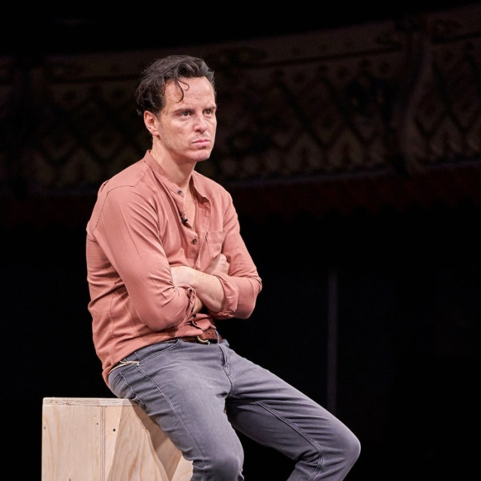 Probenbild aus THE KINGS (2020) - Andrew Scott - Old Vic - Rehearsal Photo by Manual Harlan