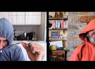 Szenenbild aus STAGED - 1. Staffel - David Tennant und Michael Sheen - © BBC