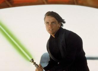 Szenenbild aus STAR WARS - EPISODE 6 - RETURN OF THE JEDI - Luke (Mark Hamill) - © 20th Century Fox