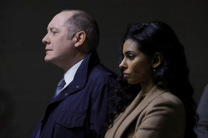 Szenenbild aus THE BLACKLIST - Staffel 8 - Reddington (James Spader) rekrutiert die Diebin Priya (Rana Roy) - © NBC