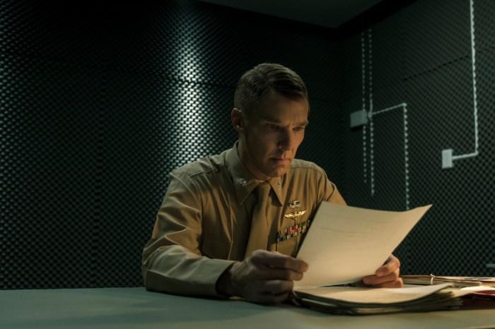 Szenenbild aus THE MAURETANIAN - Militärstaatsanwalt Stuart Couch (Benedict Cumberbatch) - © Tobis Filmverleih
