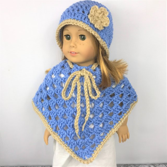 Easy Crochet Doll Hat Pattern — PACountryCrafts   640x640