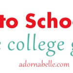 5 Back to School Basics for the College Girl Closet