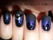 halloween nail art adorned