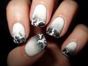 crackle polish adorned claw
